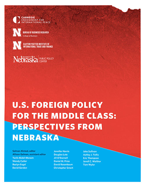 Cover of the Nebraska Trade Publication